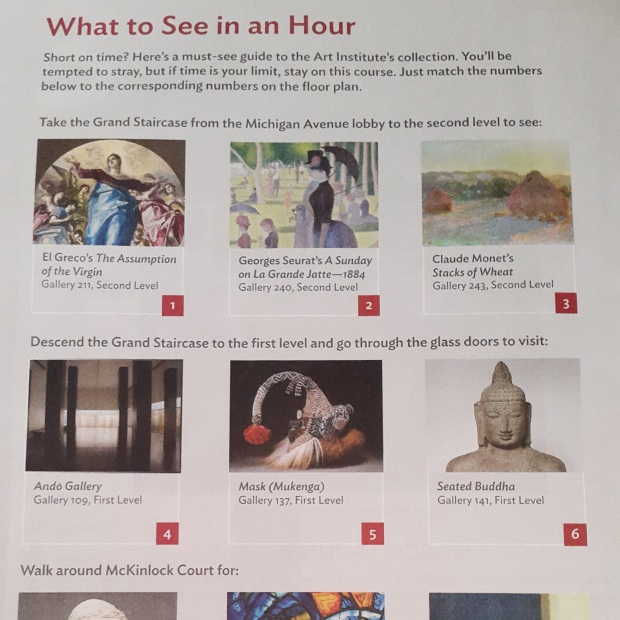 what to see in an hour