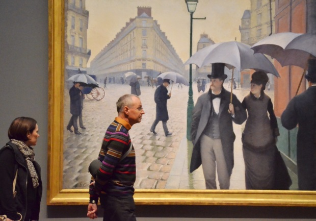 Rainy Day Gustave Caillebotte Art Institute Chicago